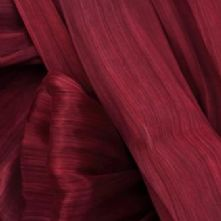 Wine Red Silk Abaca